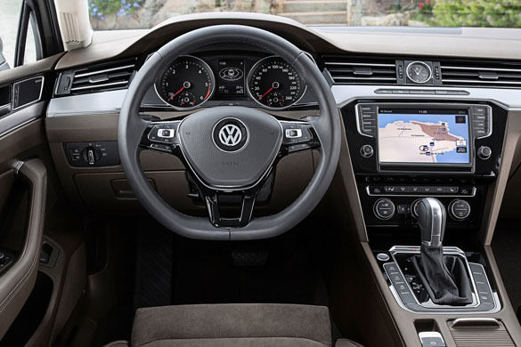 VW Passat rental in Moscow