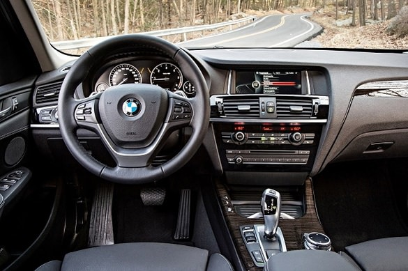 BMW X3 xDrive rental in Moscow