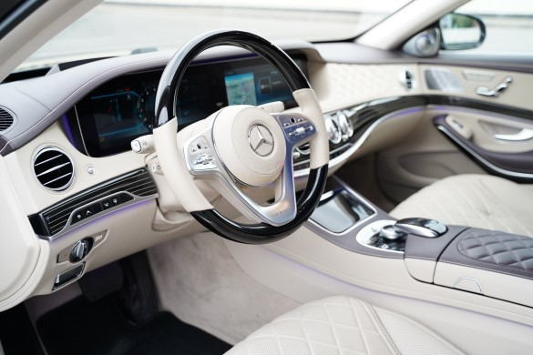 Аренда автомобиля Mercedes-Benz Maybach S450 в Санкт-Петербурге