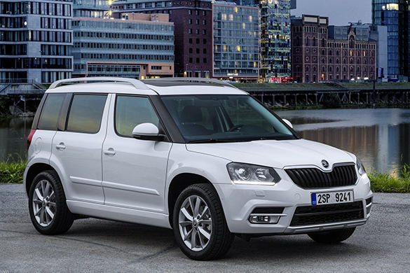 Skoda Yeti rental in St. Petersburg