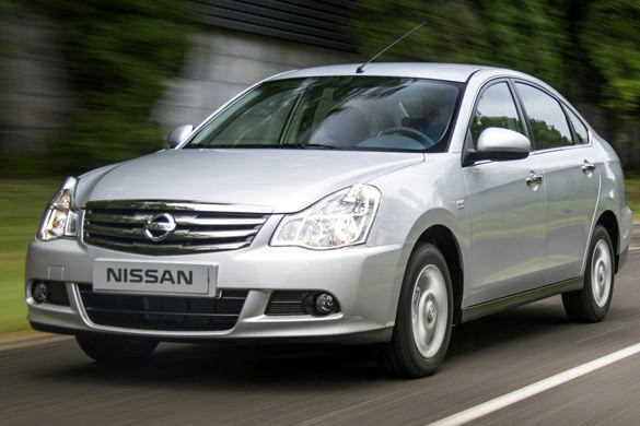 Nissan Almera IV AT rental in Moscow