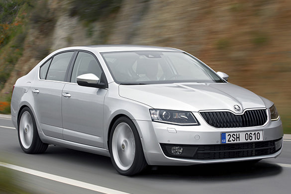 Skoda Octavia rental in Samara