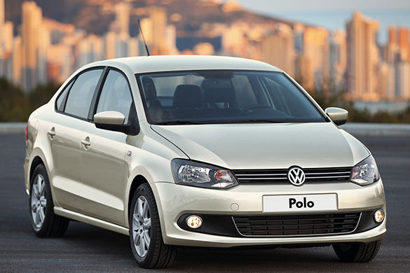 VW Polo rental in Tyumen