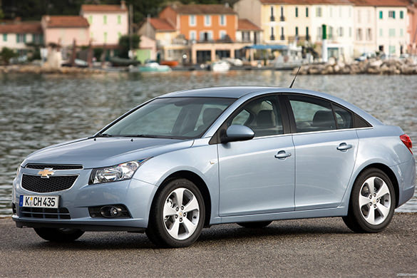 Chevrolet Cruze rental in Ufa