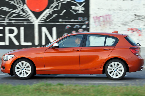 BMW 116i rental in Nizhny Novgorod