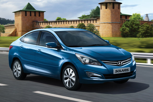 Hyundai Solaris rental in Sochi