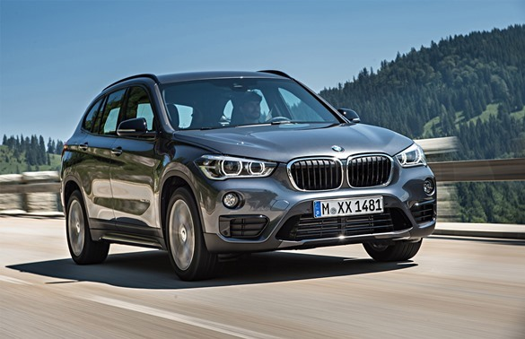Аренда автомобиля BMW X1 sDrive18i NEW в Санкт-Петербурге